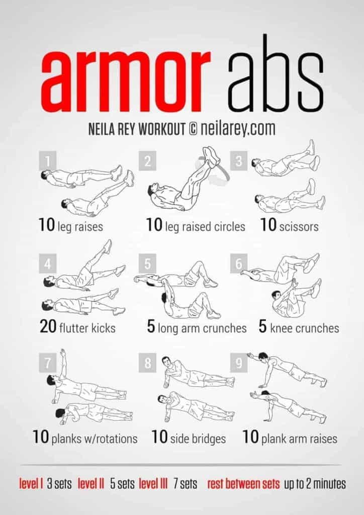 abdomen workout at home