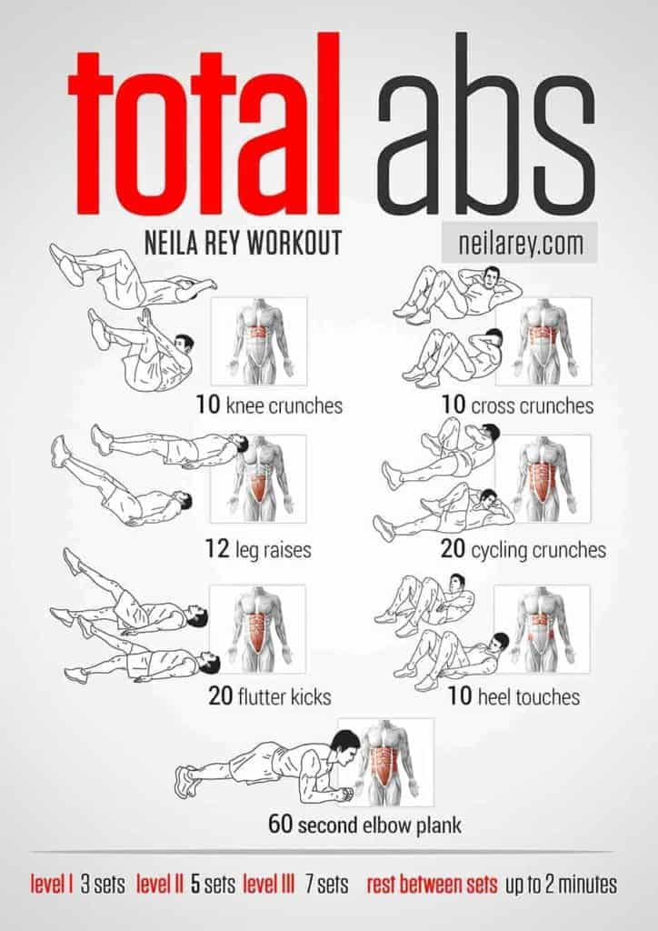 home ab exercises