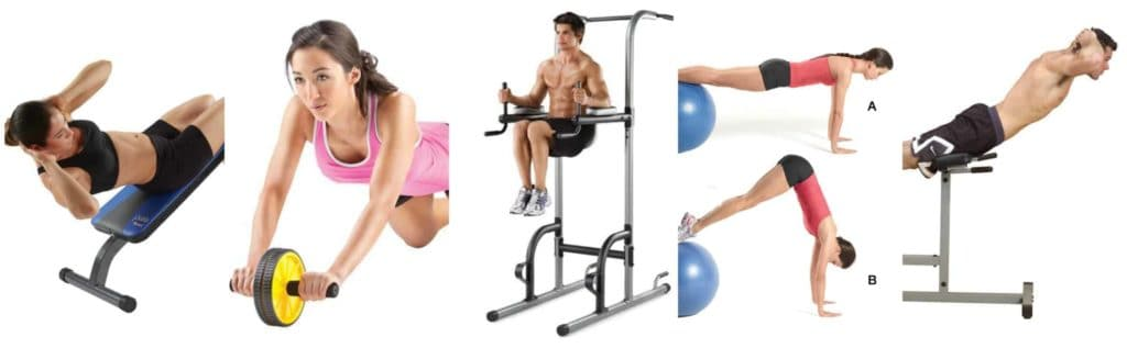 machine for abdominals