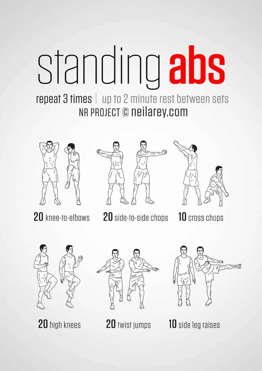 standing-ab-workout-routine