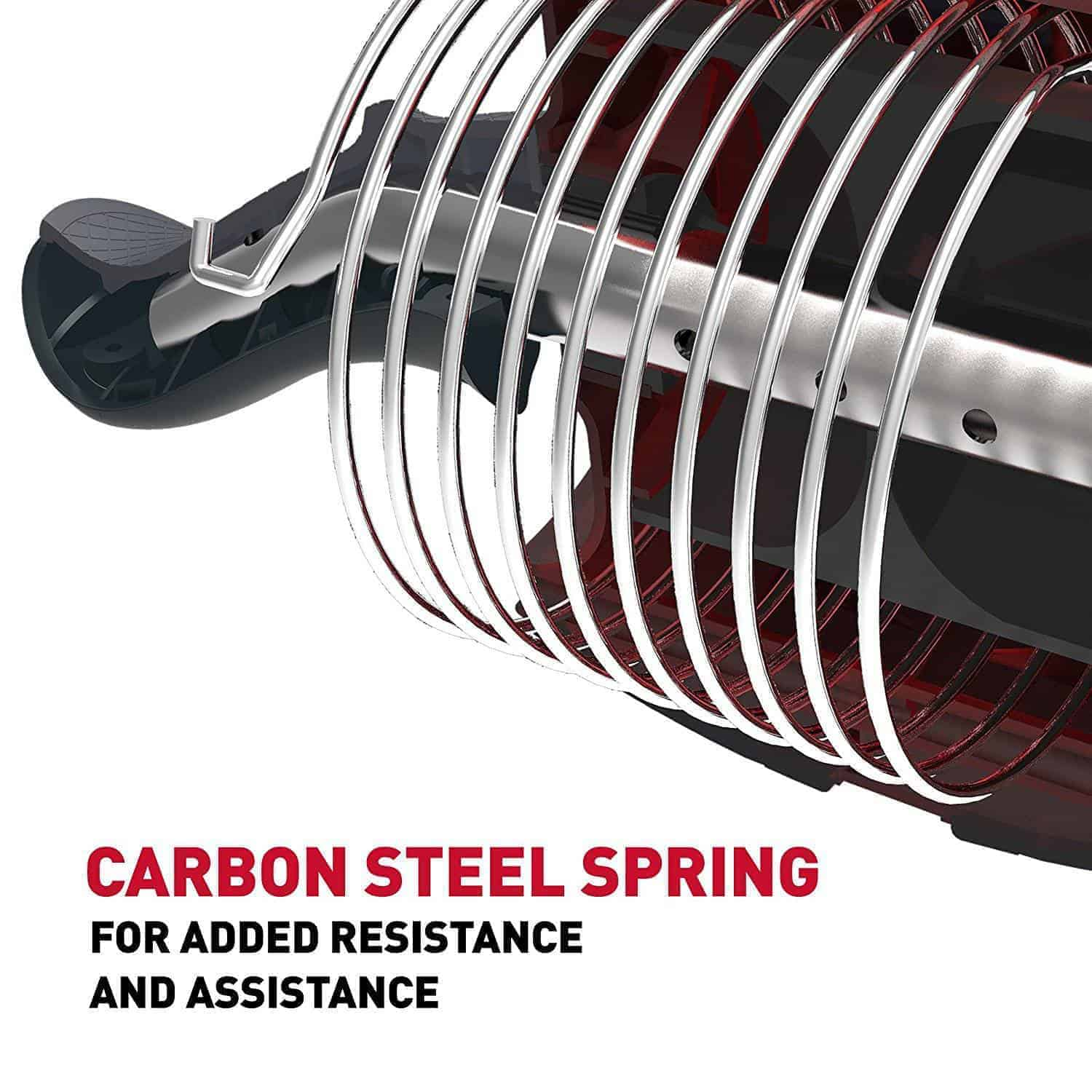 carbon steel spring support