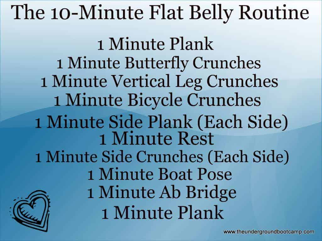 quick abs routine