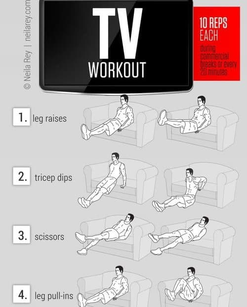 ab-workout-watch-tv