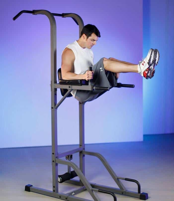power tower abs exercise