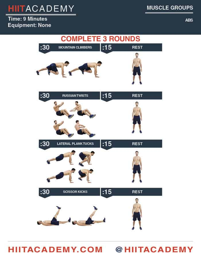 10 minute hiit workout for abs