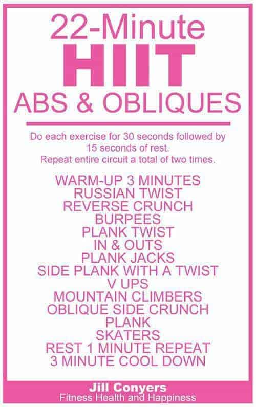 hiit ab and oblique workout