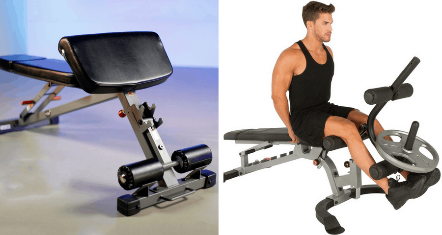 workout bench attachment