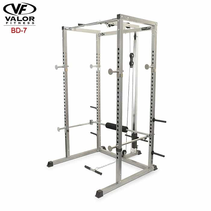 Valor Fitness BD-7 with lat pulldown