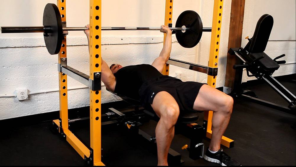 power cage bench press