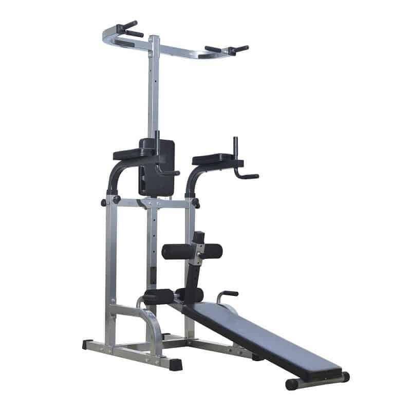 Tower Home Gym with Adjustable ab Bench