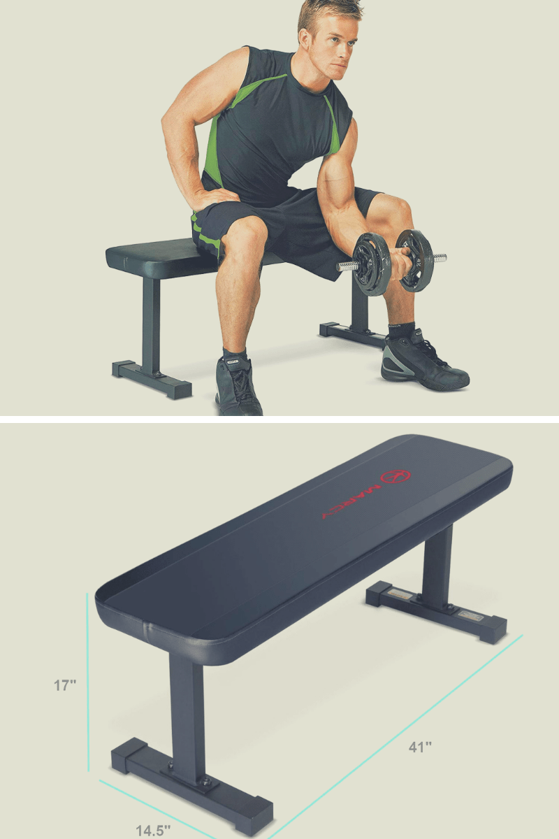 small flat gym bench