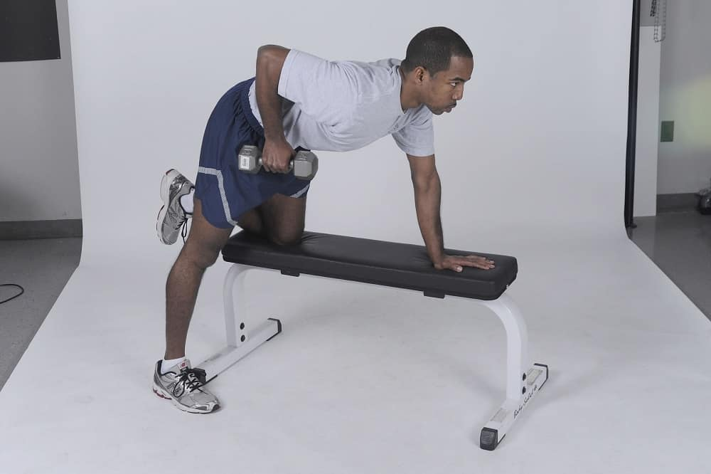 weight bench exercises at home