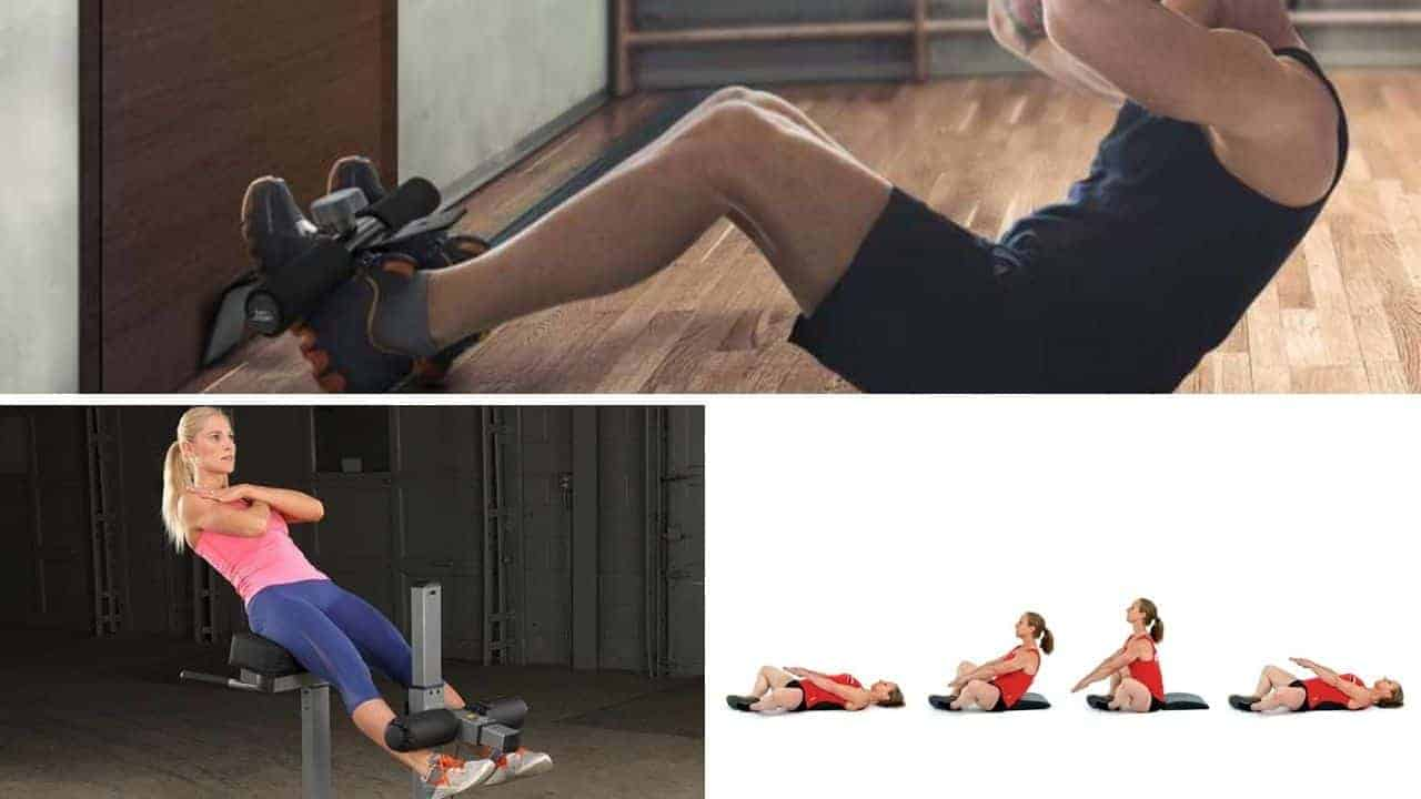sit-up exercise equipment